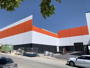 RECTA FINAL EN LA CONSTRUCCIÓN DE LAS NUEVAS INSTALACIONES